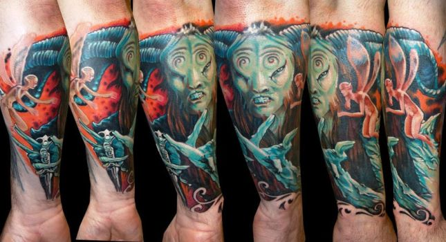 Pans Labyrinth by Zsolt Sarkosi @ Dublin Ink by DublinInk