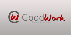 GoodWork logo. by snakeARTWORK