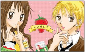 Strawberry Jam:: by jujubes