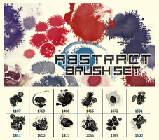 Abstract Brush Set by Kyoux