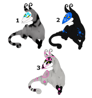.:Masked Kaku Adopts-Closed:. by LeeOko