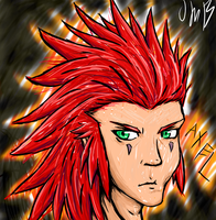Axel by ArpegiusWolf