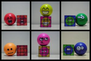 Custom Stressball Rubik's Cube by Synfull