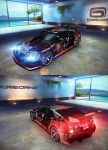 Cadillac CTSV Coupe Race Car first exclusive paint by GamePonySly
