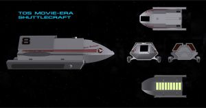 TMP Era Shuttlecraft by mdbruffy