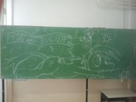 Ponies on blackboards: Week 6   2012 year-end part by ChocoMilkTerrorist