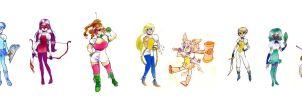 sailor moon redesigns by muura