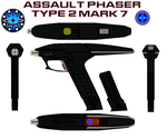 Assault Phaser Mk  7 Type 2 by bagera3005