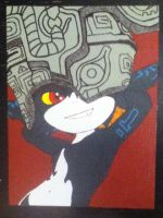 Midna painting by TheScarecrowOfNorway