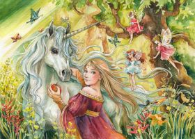 in a fairy tale by Maria-Sandary