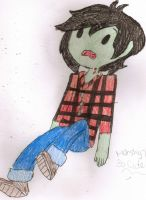 point commission: marshall lee by LaTigressa1