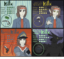 Killix Cards by MintyDreams7