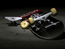 Skateboard Light by DookieBR