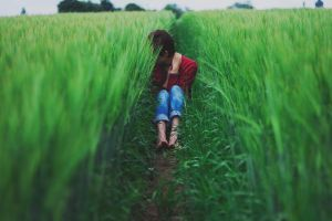 13/365 - Barefooted in a cornfield by nerdshades