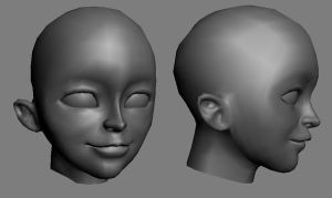 3d - Head Shot by Athey