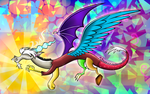 Colorful Chaos by flamevulture17