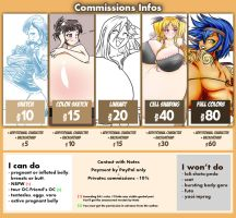 Commissions sheet 2015 by Marrazan