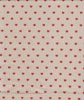 Fabric with heart pattern by semireal-stock