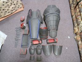 WIP N7 armor by kamenkewl