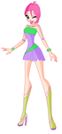 Tecna Sweet Outfit CE by ABCDevi