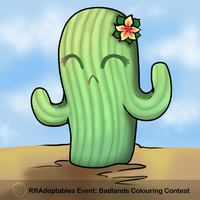 Cute Lil Cactus by xXYoiteShindouXx
