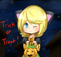 Rin : Trick or Treat by mechubear