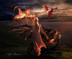 Mother of dragons by Sacm88