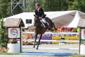 3DE Show Jumping Phase Stock 178 by LuDa-Stock