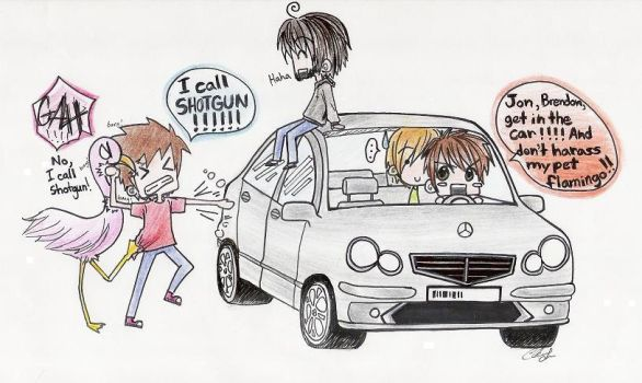 Panic- To the Car by r-ingo