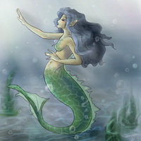 Mermaid by sanne