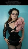 Extravagant Gothic Make UP Corset Stock 001 by MADmoiselleMeliStock