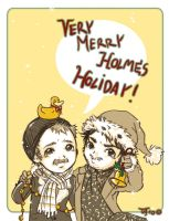 SH Merry Holmes Holiday by FahrSindram