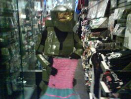 Master Chief goes shopping 9 by Gubreez