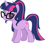 Ponified Twilight Sparkle (Legend of Everfree) by Rustle-Rose