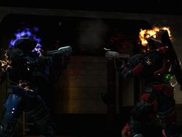 Halo Reach: Two Bullets Two Kills by purpledragon104