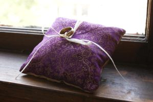 Ringbearer Pillow by Gwend-O-Ithilien