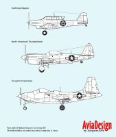 Prototype USAF attack aircraft by Bispro