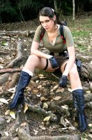 Lara Croft Tomb Raider Cosplay by Yukilefay