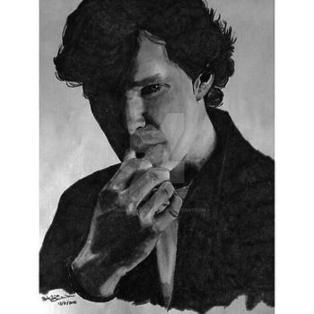 Benedict Cumberbatch by themagicofpotter