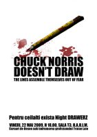 Chuck Norris -NDS- Poster by killabee