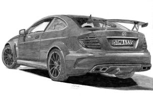 Mercedes-Benz C63 AMG Black Series by footiedavana