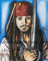 Captain Jack Sparrow by ItsCloctorArt