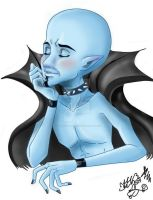 Dreaming Megamind by Thunderstorm-Fairy
