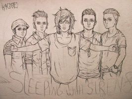 Sleeping With Sirens | ink by Kagoe