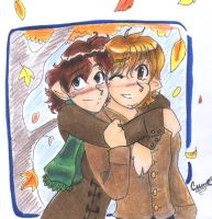 Picture for Antinon - Hobbits by Yumi-San1688
