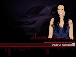 Mia Toretto FF5 wallpaper by afrodytta