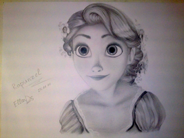 Rapunzel by EllenDS