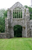 Lamphey Bishops Palace 9 by GothicBohemianStock