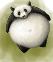 Panda Ball by tamiart