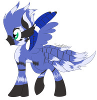 :COM: Birdie Pony by spottie-dots
